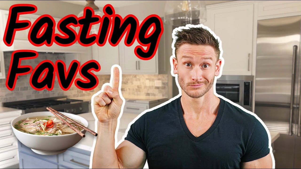 how to break a fasting diet