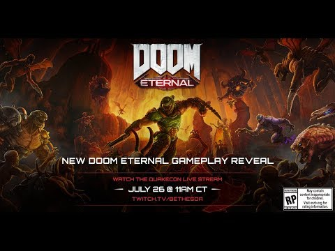 QuakeCon 2019 Day 1: QuakeCon Keynote featuring DOOM Eternal + DOOM 25 Panel, thumbnail