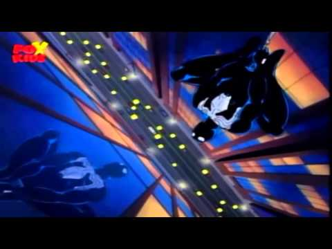 Spiderman the Animated Series - Black Spiderman