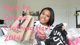 Back to School: Clothing Haul ft. Urban, Converse, Pink and more! Thumbnail