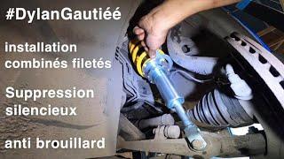 Installation COMBINÉS FILETÉS