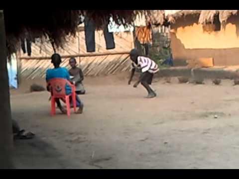 Kids having fun yei south sudan