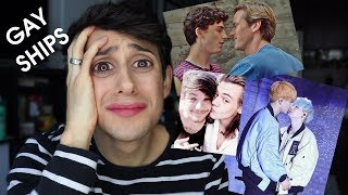 reacting to GAY SHIPS - (YOONMIN, LARRY and +) *emotional*