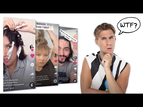I Tried Weird Tiktok Hair Hacks So You Don't Have To!