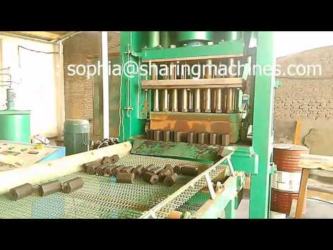 Hydraulic Barbecue Charcoal Briquette Making Machine For Hexagonal Shape