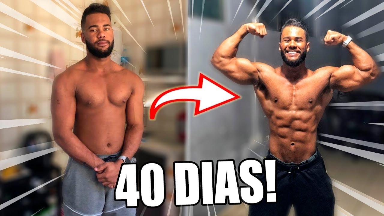 dieta para secar em 40 dias