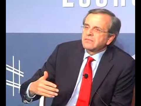 Niarchos Lecture Q and A with Greek Prime Minister Antonis Samaras