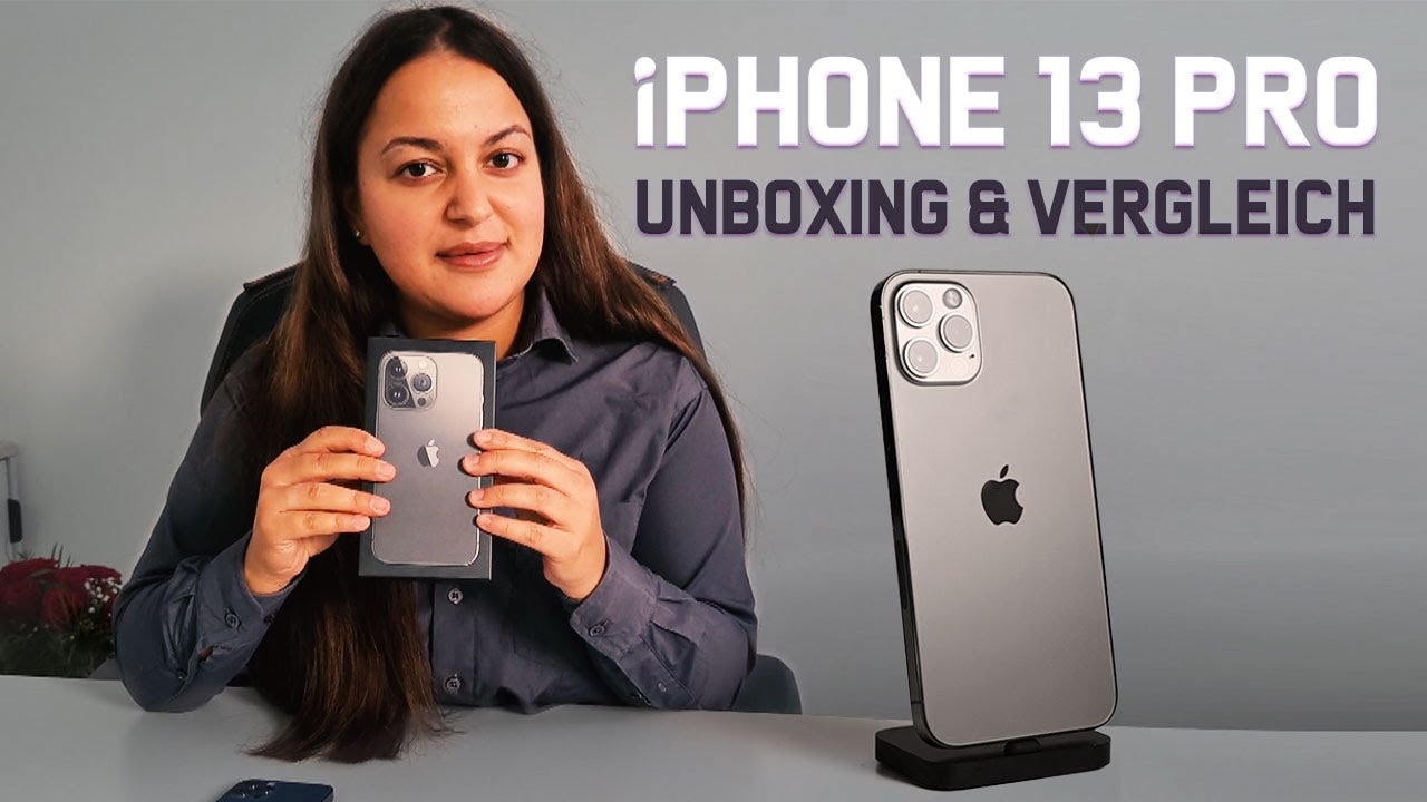 Introducing iPhone 13 Pro, iPhone 13 Pro - Unboxing, Setup and First Look