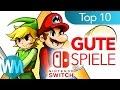 TOP 10 GUTE SPIELE für Nintendo SWITCH! ✪✪✪