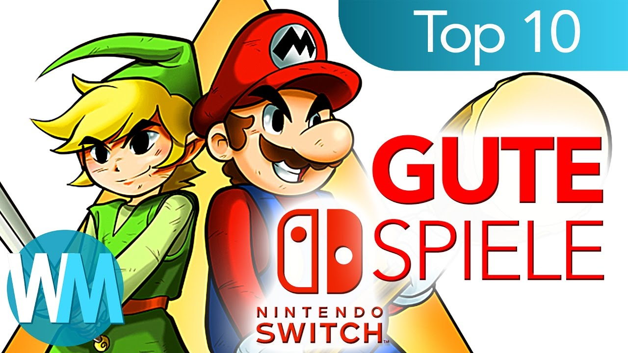 top 10 gute spiele f r nintendo switch youtube. Black Bedroom Furniture Sets. Home Design Ideas