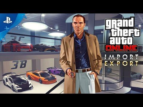GTA Online - Import/Export Trailer | PS4