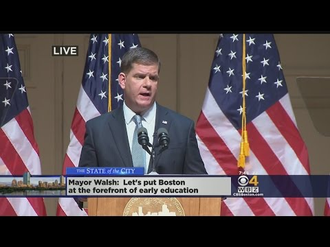Mayor Walsh Delivers State Of The City Address (Part 1)