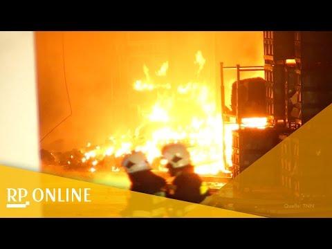 Großbrand bei Autozulieferer in Witten
