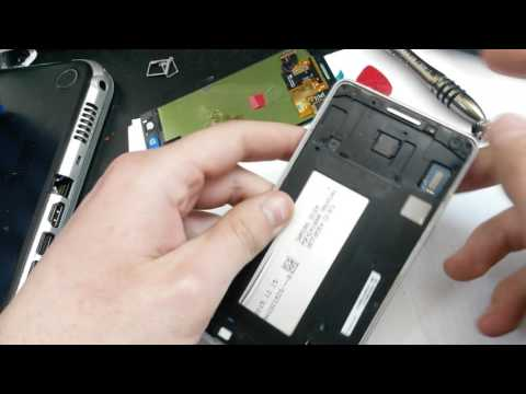 Samsung Galaxy A5 2015 disassembly lcd replacement