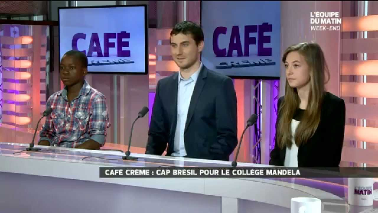 cap br sil 2014 sur le plateau tv de l 39 equipe 21 youtube. Black Bedroom Furniture Sets. Home Design Ideas