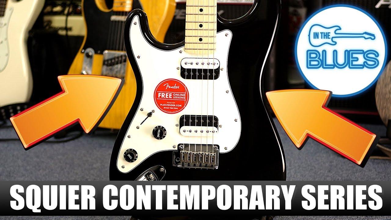squier contemporary series stratocaster h h dual humbucker guitar review Mini Strat Humbuckers