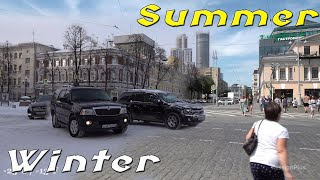 summer & Winter in Russia - What's better?