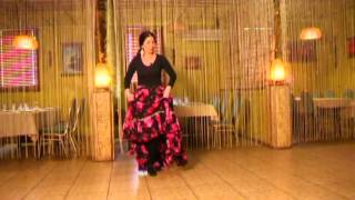 Уроки цыганского танца Венеры Ферарь №6 (gipsy dance lesson)