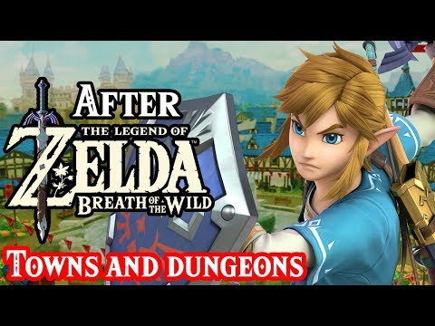 Next Zelda Game With Towns and Dungeons?