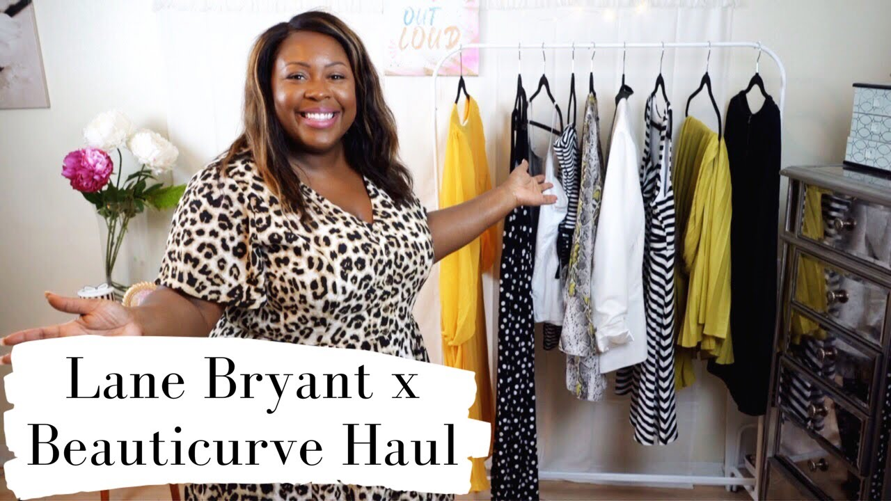 PLUS SIZE HAUL | Beauticurve X Lane Bryant Try-on Plus Size Dresses ...