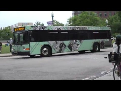 RIPTA GILLIG ADVANTAGE BUS 0926 ON THE 56 I DOWNTOWN PROVIDENCE RI