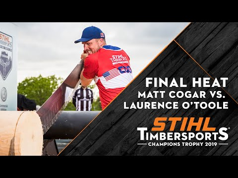 Final Heat // Kungsbacka (SWE) 2019 // STIHL TIMBERSPORTS® Champions Trophy