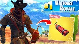 FORTNITE FAR WEST : Le shérif à la dynamite !