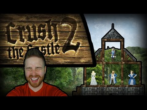 Crush The Castle 2 - Hutts Plays Classic Games