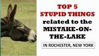 top 5 stupid things mistake on the lake rochester ny