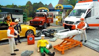 Пожарная машина, Скорая помощь - мультик про машинки