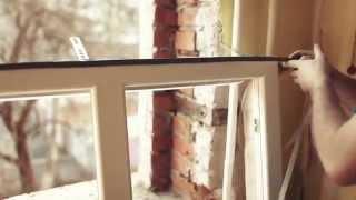 видео Монтаж пластиковых окон