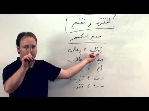 al-kitaab Lesson Two and Three: Broken Plurals جمع التكسير