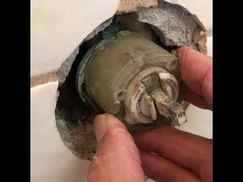 Older American Standard Ceramix Shower Valve Repair