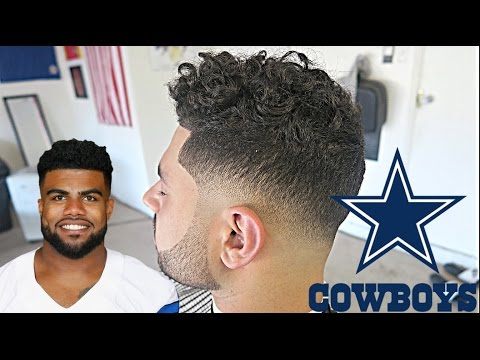 Barber Tutorial Ezekiel Elliott Low Drop Fade W Beard