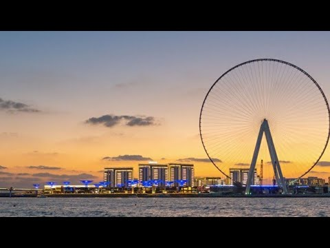 BLUEWATER ISLAND – DUBAI (WORLD'S LARGEST FERRIS WHEEL)