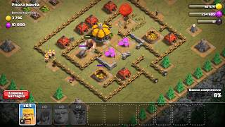 CLASH OF CLANS MONGOLFIERA VINCENTE!