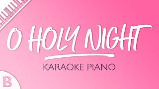 O Holy Night (Karaoke Piano) Key of B