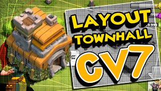 CLASH OF CLANS | Centro da Vila Level 7 | Town Hall 7 | Defesa / Defense - #3