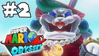 Super Mario Odyssey 100% Walkthrough Part 2: Poofing Rosie