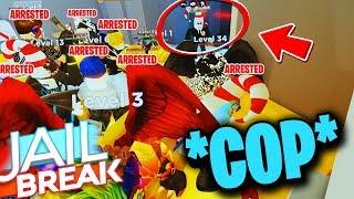 MASSIVE JAILBREAK ARREST *10 ARRESTS AT ONCE* (Roblox Jailbreak)