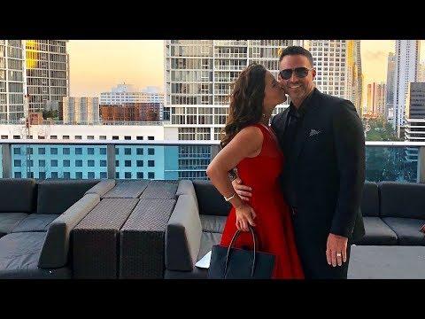 Ximena Duque y su esposo visitan el lugar donde se ...