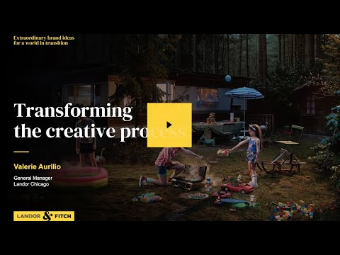 Extraordinary Webinar - Transforming the creative process