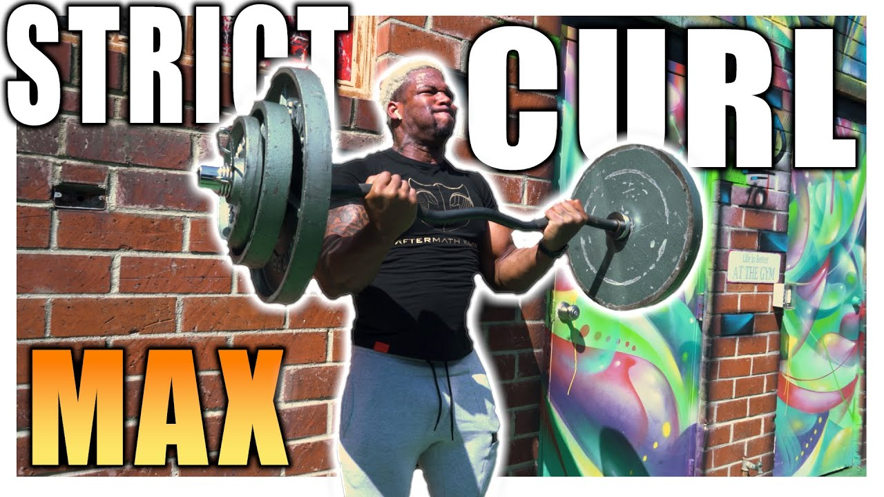 I Tried Strict Curl 185lbs !! Stronger Arms (Now)