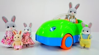 Настя  в гостях у кроликов!