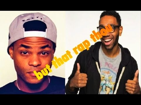 King Bach and J.D Witherspoon Jr Freestyle rap in the car