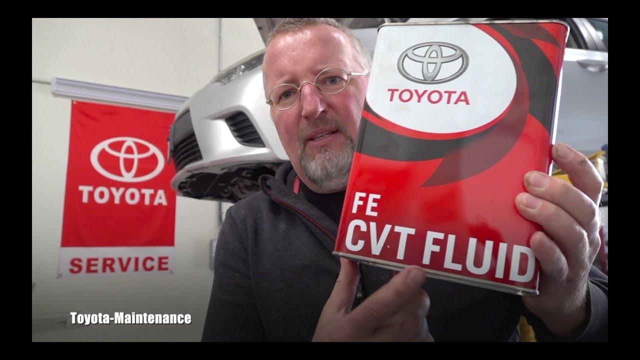 2014 Corolla CVT Fluid replacement