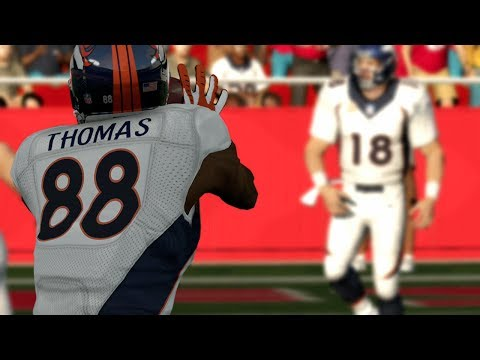 Peyton Manning to Demaryius Thomas Connection is LETHAL at Arrowhead (Broncos vs Chiefs)