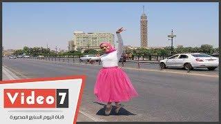 أول راقصة بالية بالحجاب فى مصر: