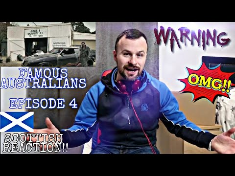 How To Talk Australians | Episode 4 Famous Australians | SCOTTISH REACTION