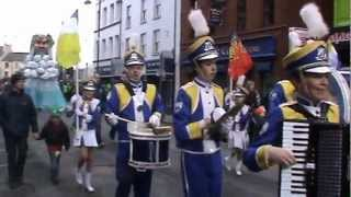 Mayobridge Band performing at theSt Patricks Day Parades in Newry and Dublin 2013